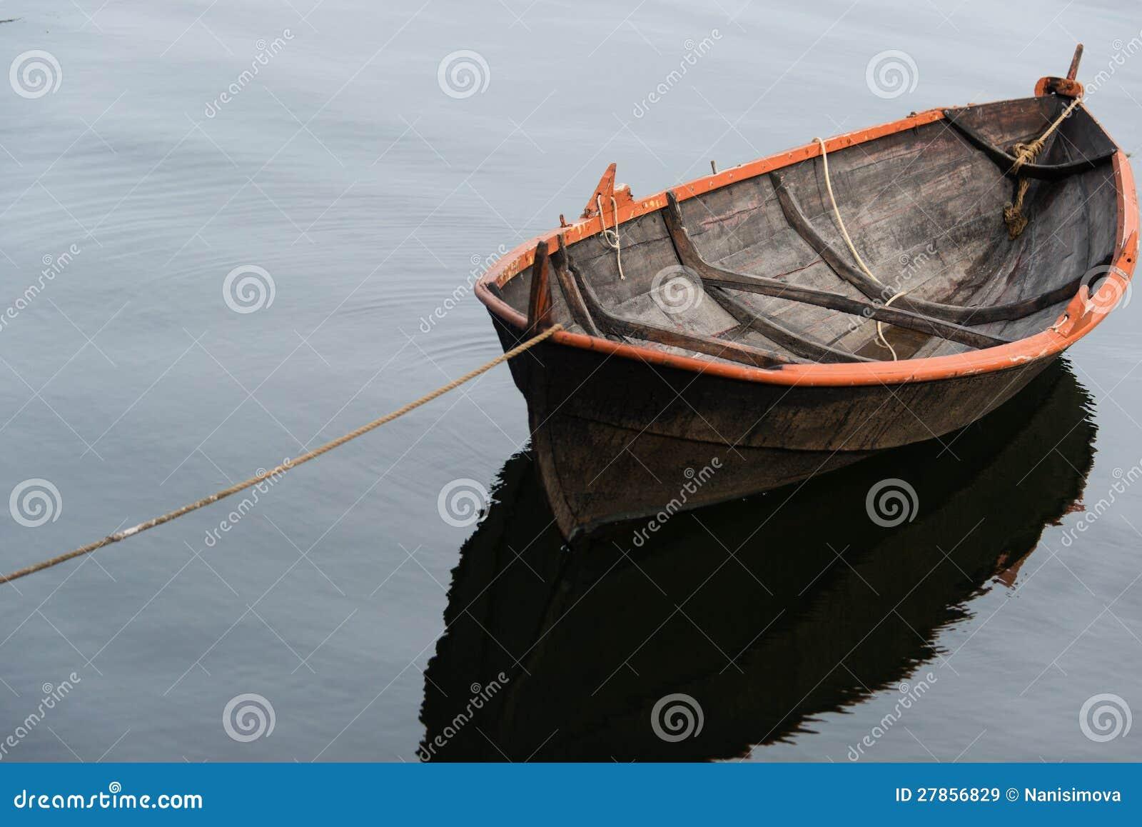 Wioślarska łódź