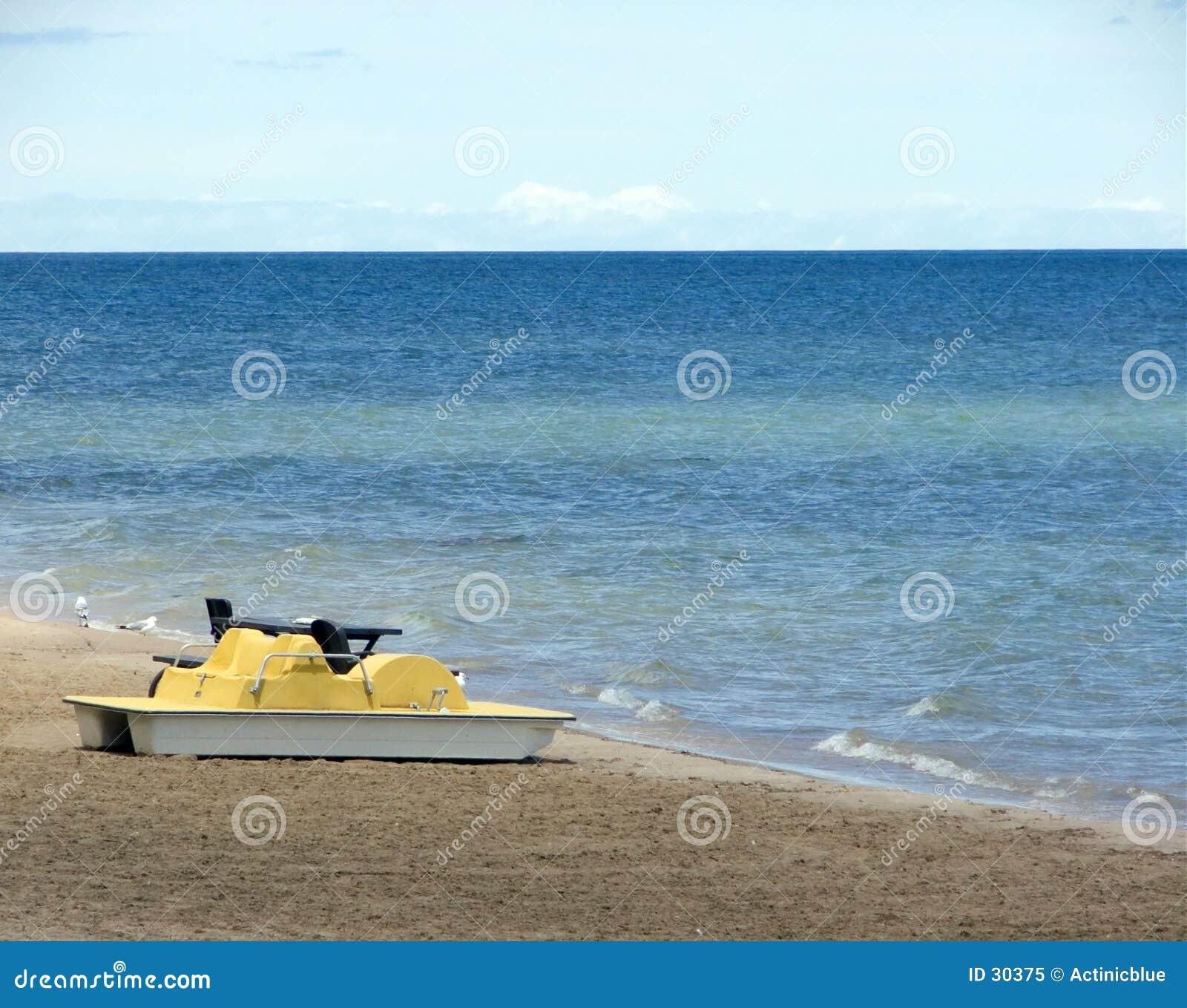 Wiosłuj łodzią
