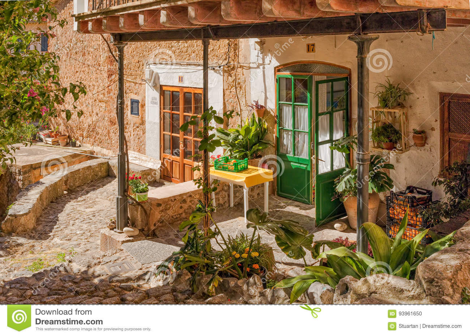 Wioska ogród, Deia, Mallorca