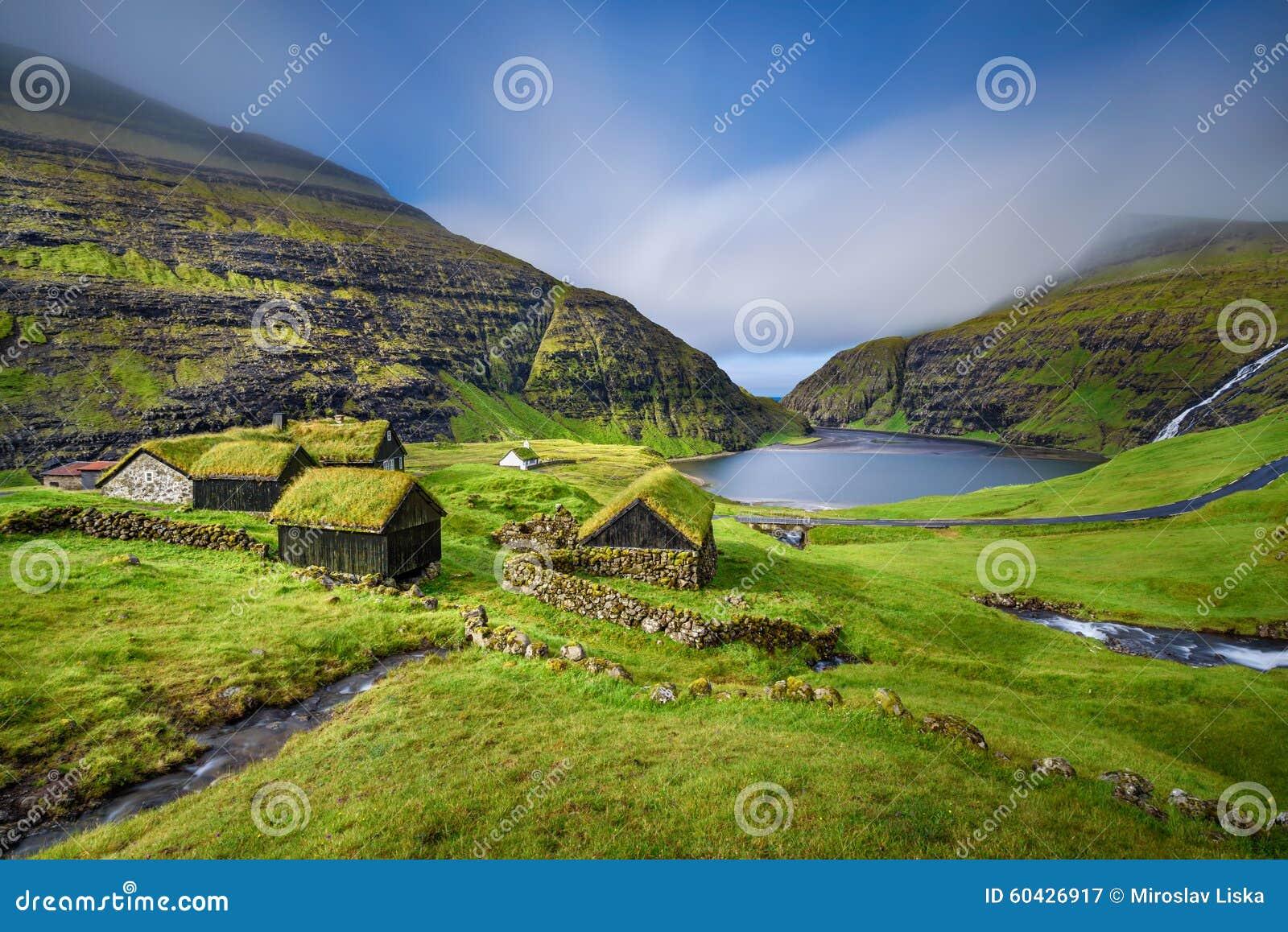 Wioska Saksun, Faroe wyspy, Dani