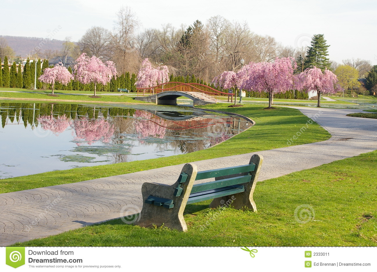 Wiosna park