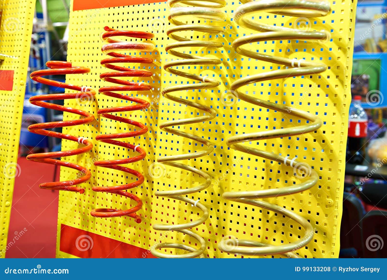 Wiosny szoków absorbery w auto część sklepie