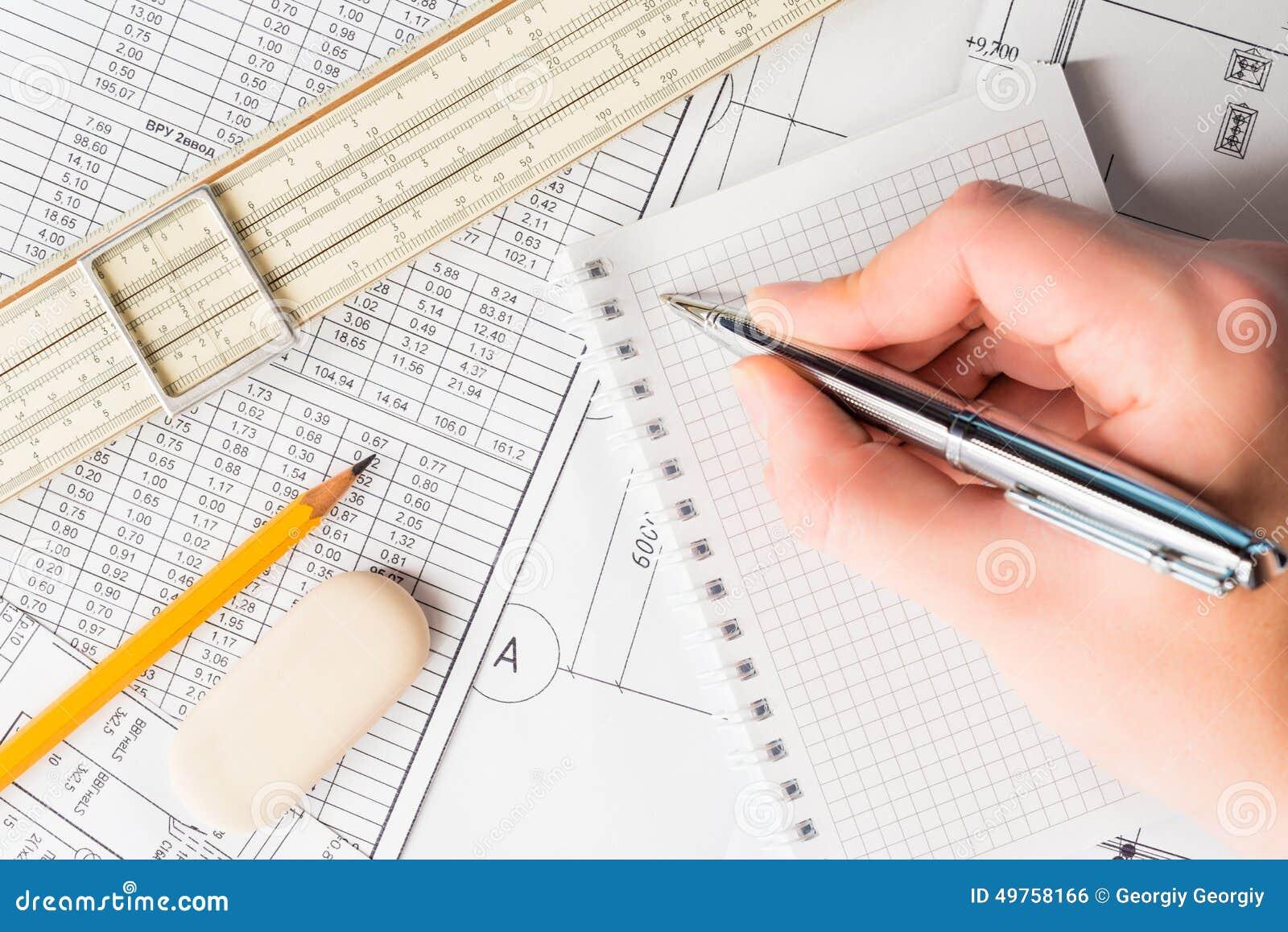 improve handwriting architectural engineering