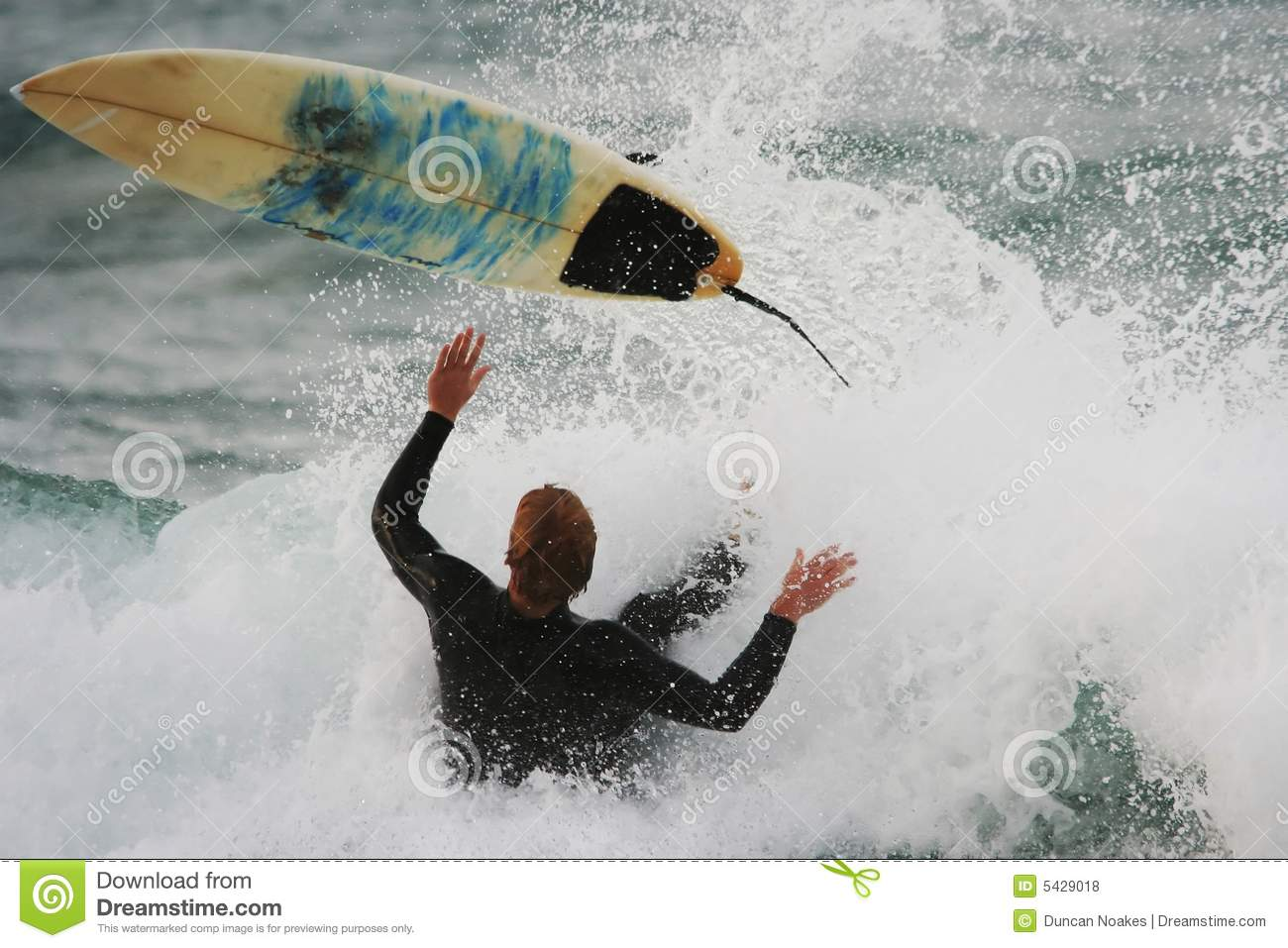 Wipeout surfant