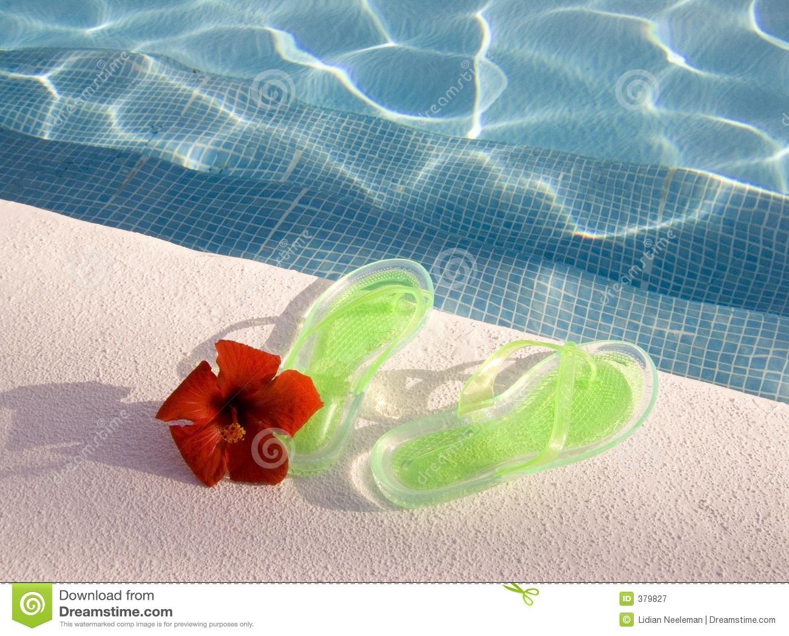 Wipschakelaars bij zwembad