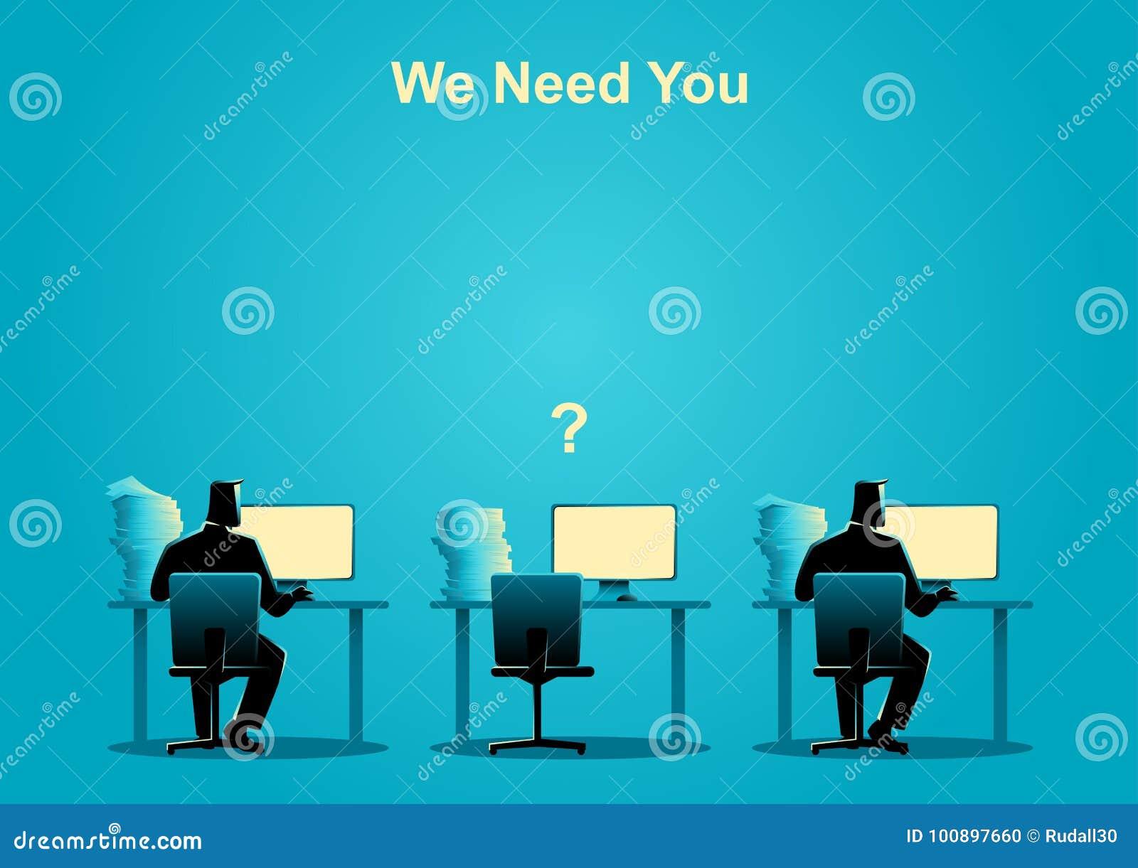 Wir Benötigen Sie, Freie Stelle, Neue Einstellung, Auszubildender ...