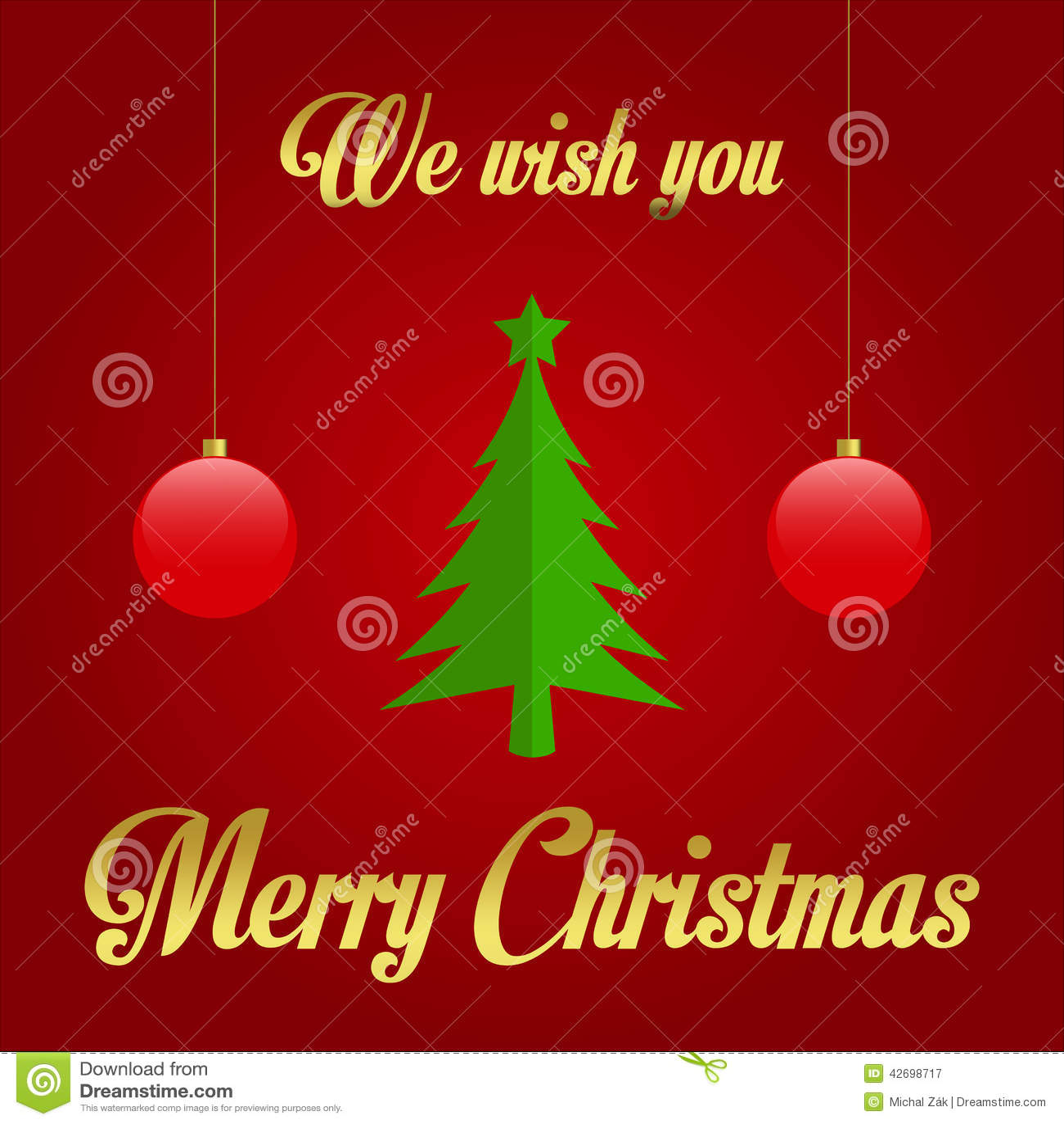 Wir Wünschen Ihnen Frohe Weihnachten - Illustration Vektor Abbildung ...