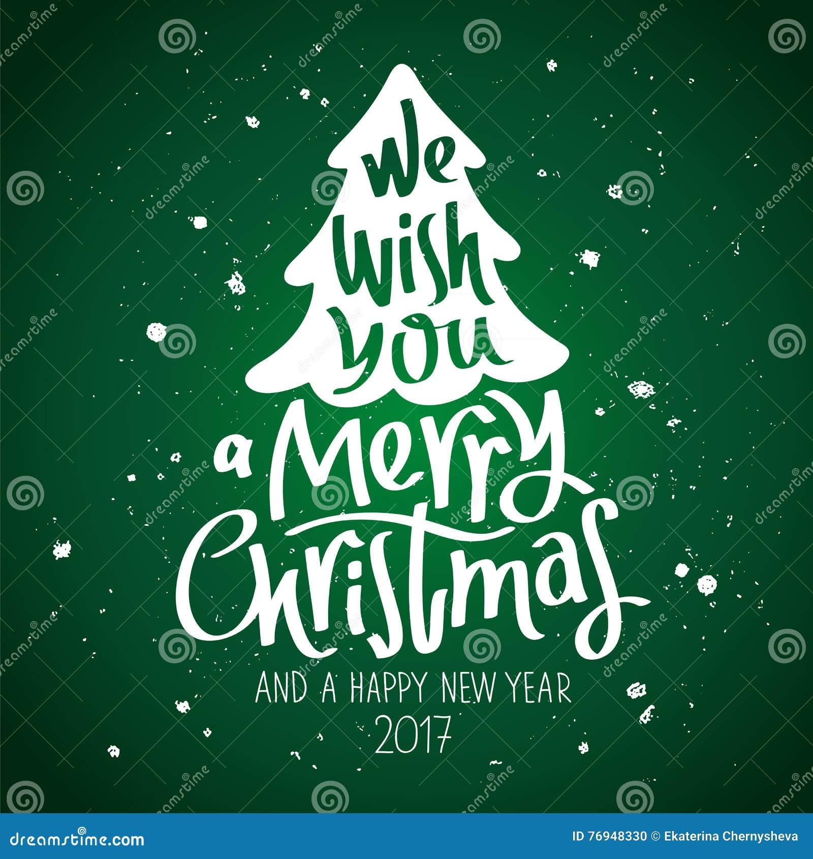 Wir Wünschen Ihnen Frohen Weihnachten Vektor Abbildung ...