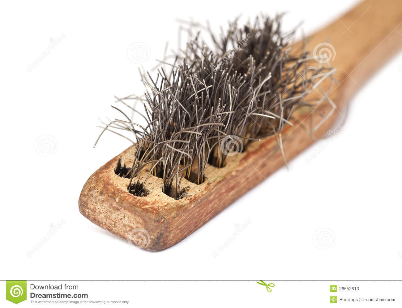 Wire brush stock image. Image of color, close, close - 26552613