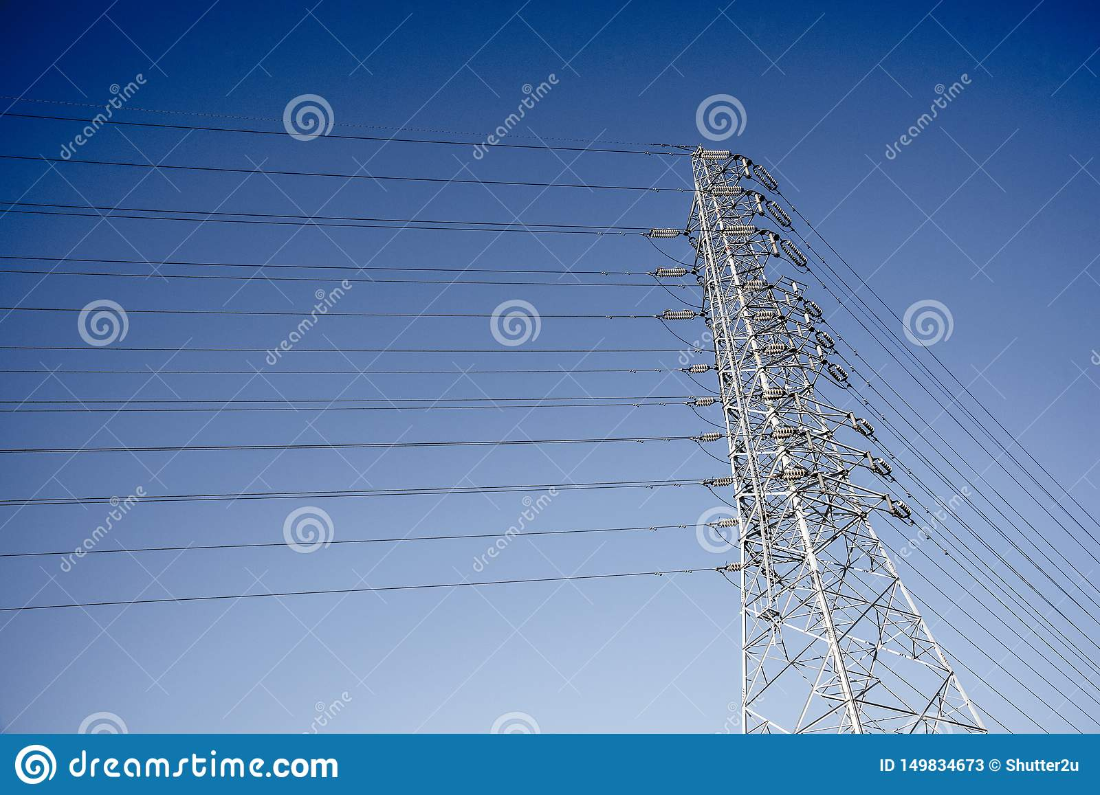 Wire Electric Telecom post