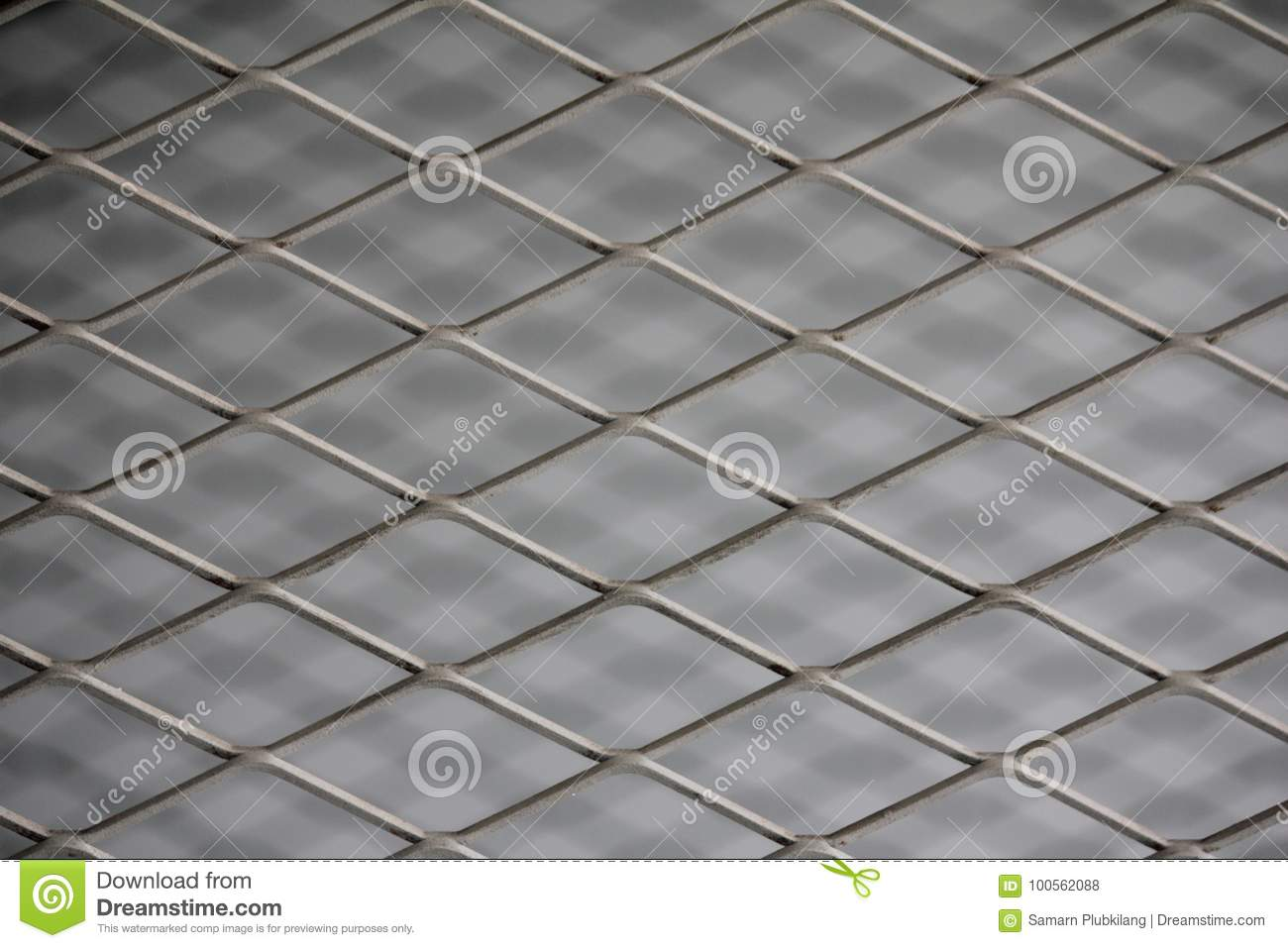 Fence Mesh Netting.Wire Fence Background. Seamless Metal Chain Link ...