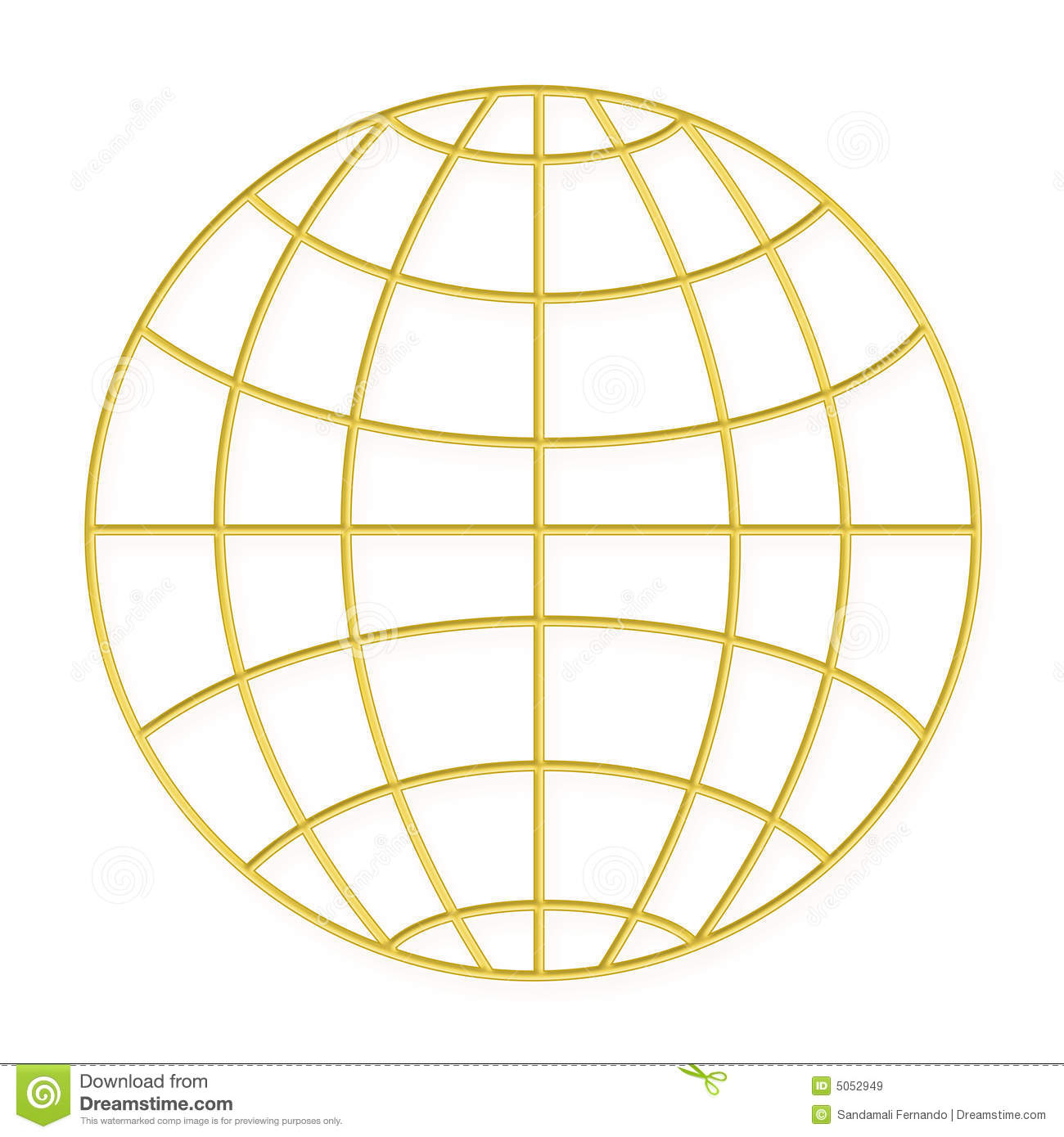 Gold Stock Vector. Image Of Earth