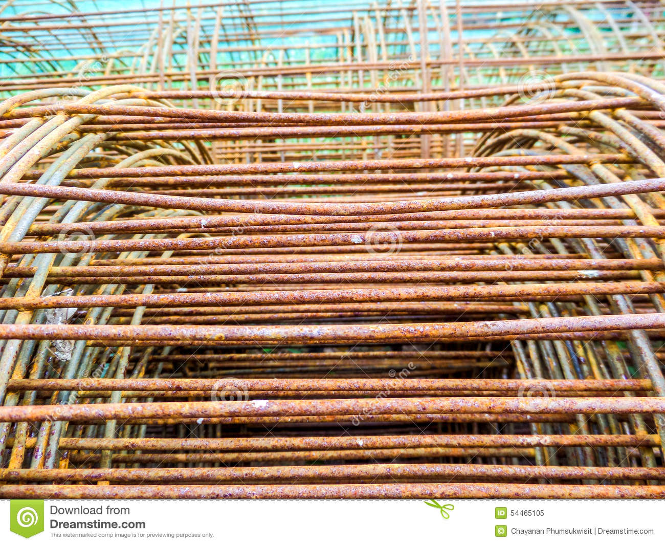 Wire mesh has rust stock image  Image of mobile, people