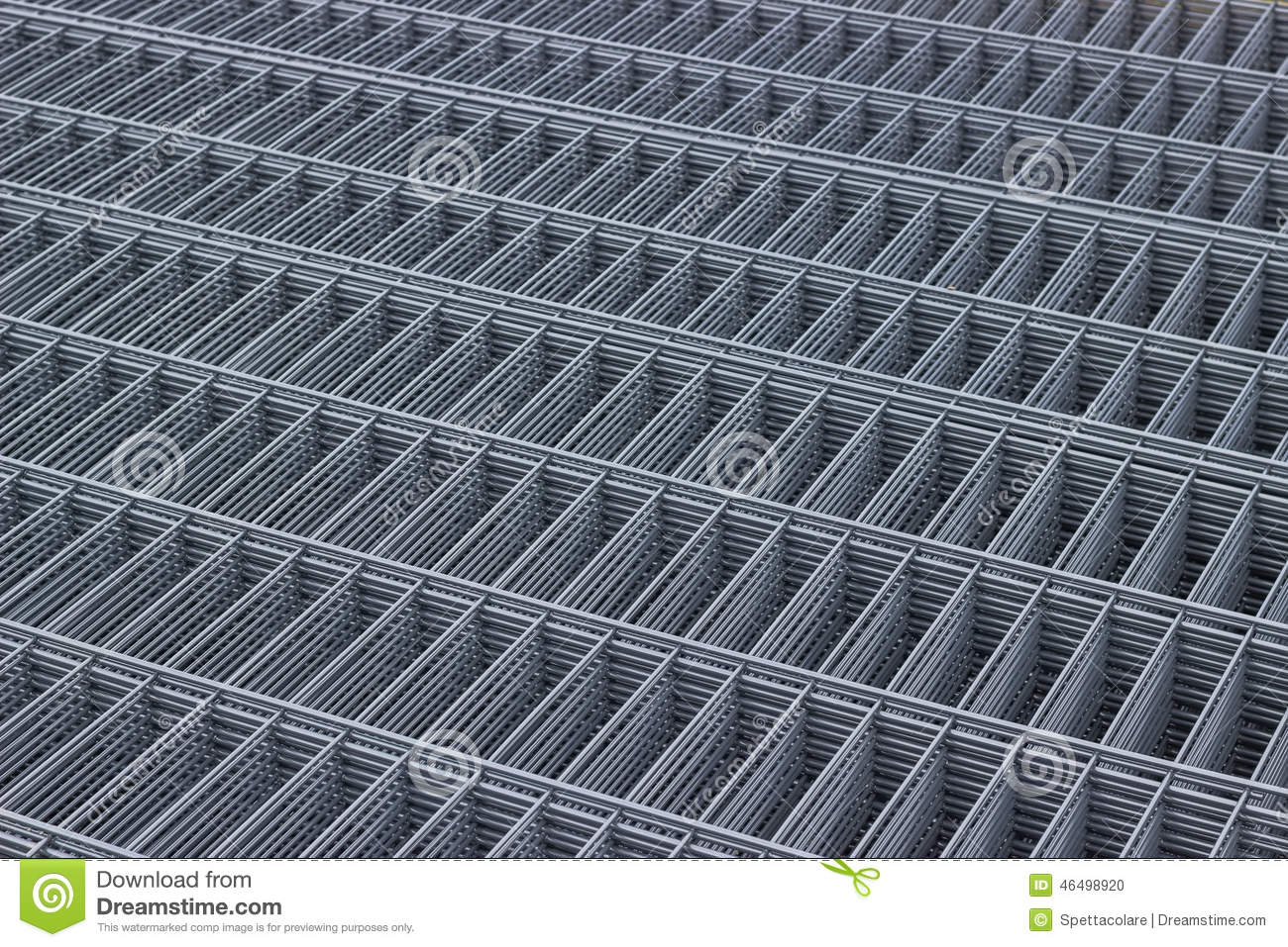 Wire mesh panels 3 stock photo. Image of building, dump - 46498920