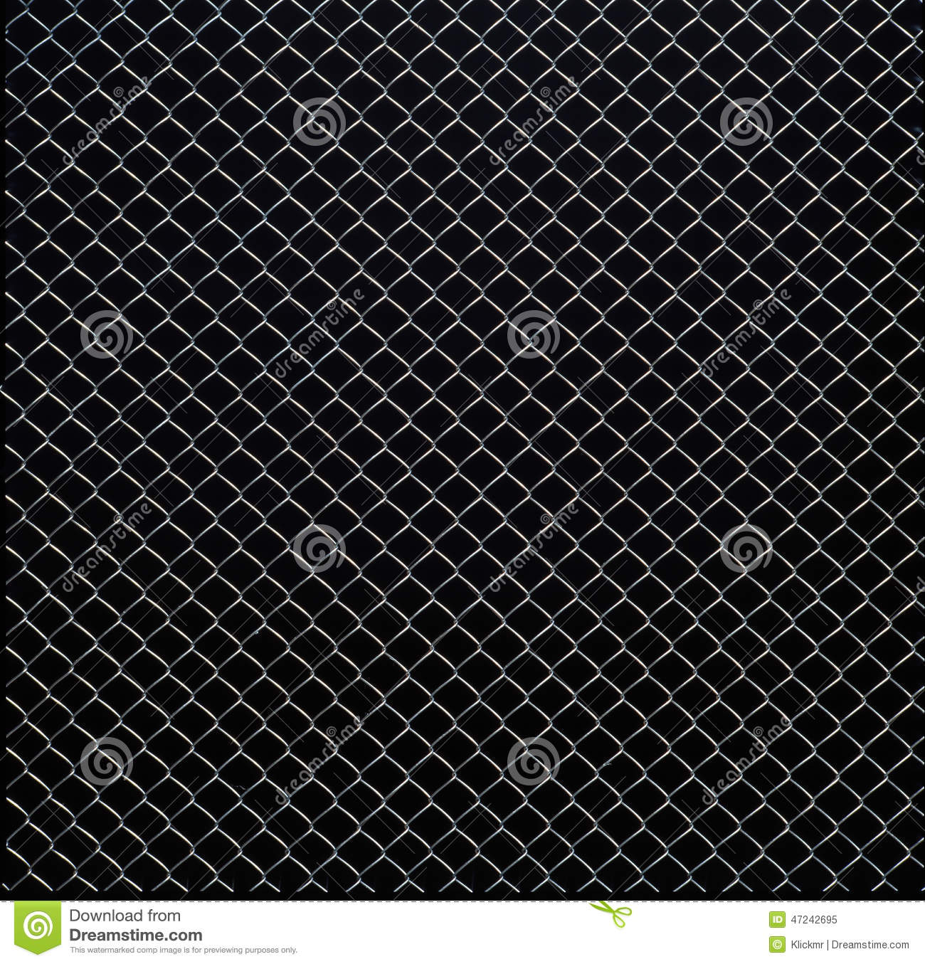 Black Wire Cloth : Wire mesh texture on black background stock image