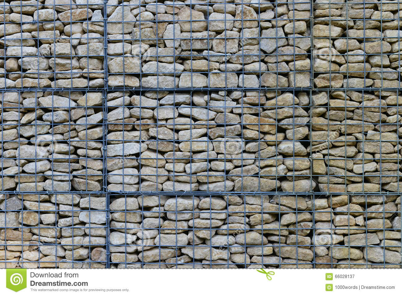Wire mesh wall stock image of grid covering iron