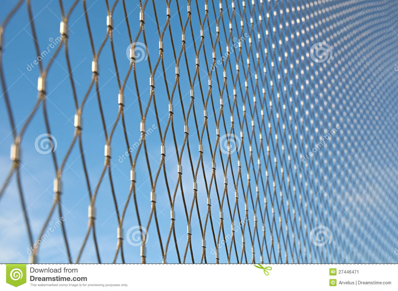 Wire net stock image. Image of steel, safety, connection - 27446471