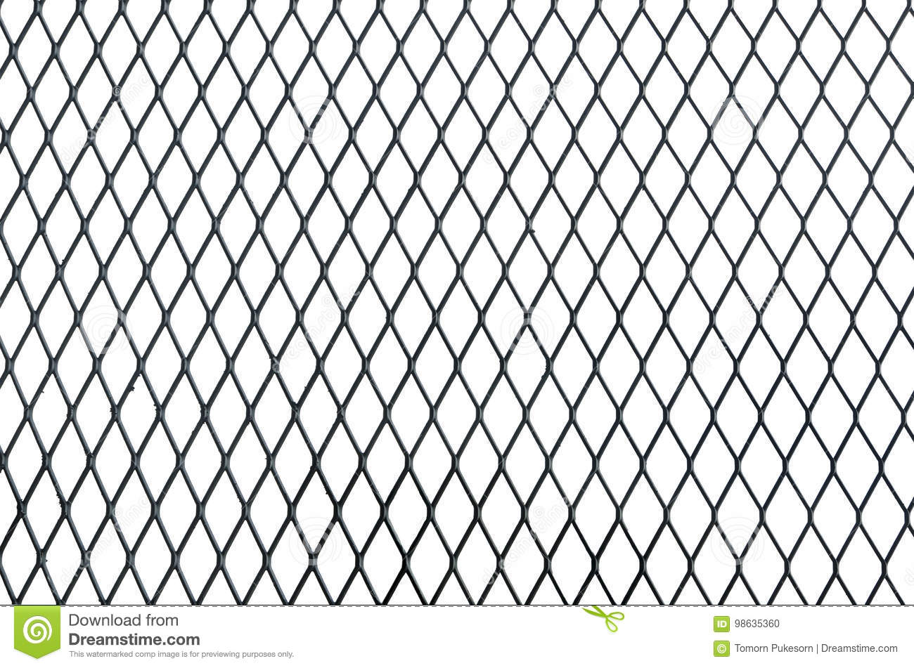 Wire Net Texture Isolated On White Background Stock Photo - Image of ...