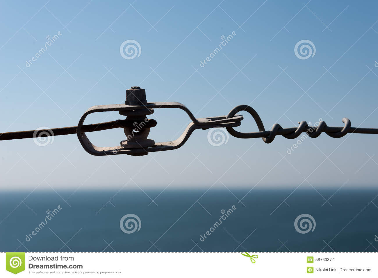 Wire tensioner stock image. Image of construction, concept - 58760377