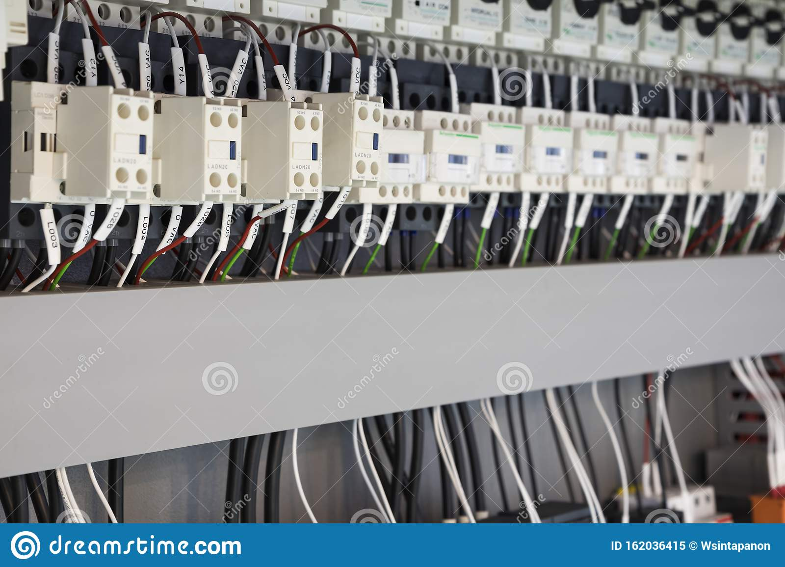 Wired Electrical Board With Terminals Stock Image - Image of electricity,  line: 162036415Dreamstime.com