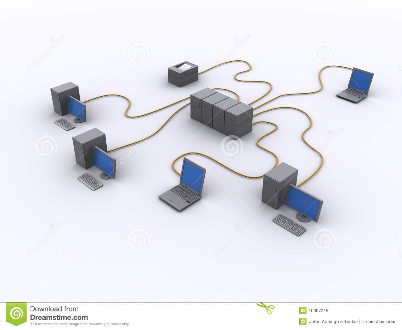 wired network diagram 10307215 wired network diagram royalty free stock photo image 10307215 wired home network diagram at gsmx.co