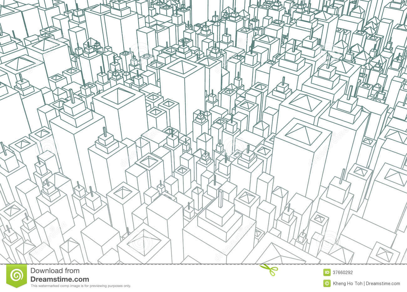 Wireframe City