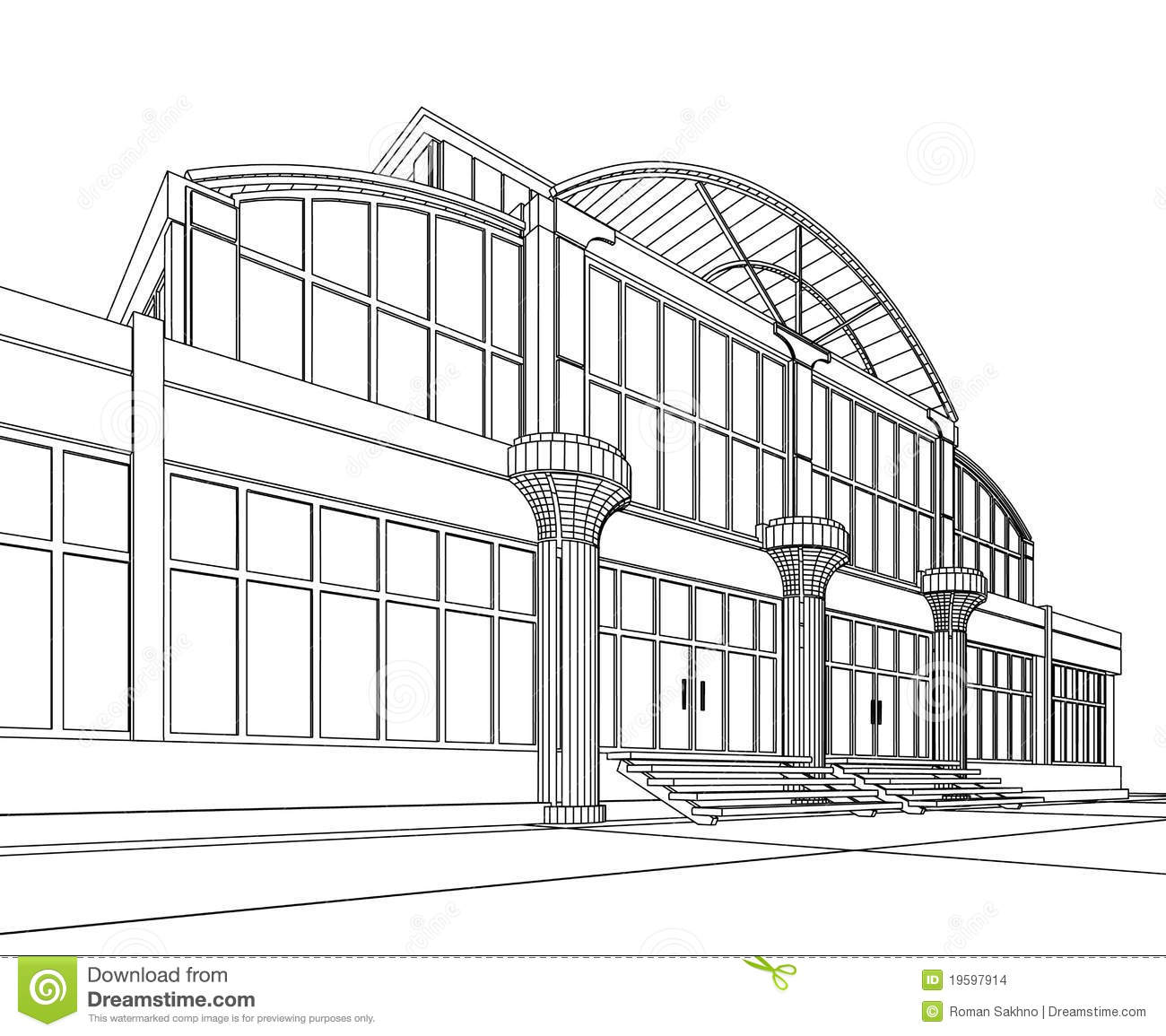 restaurant building clipart black and white. royaltyfree stock photo restaurant building clipart black and white