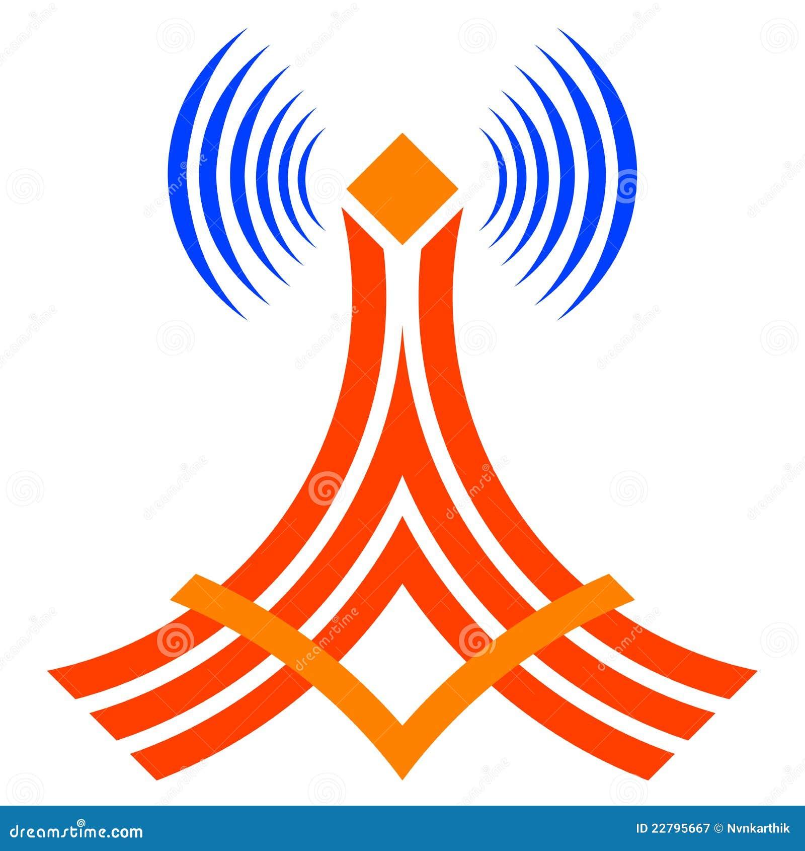 Wireless Communication Cartoon Vector | CartoonDealer.com ...