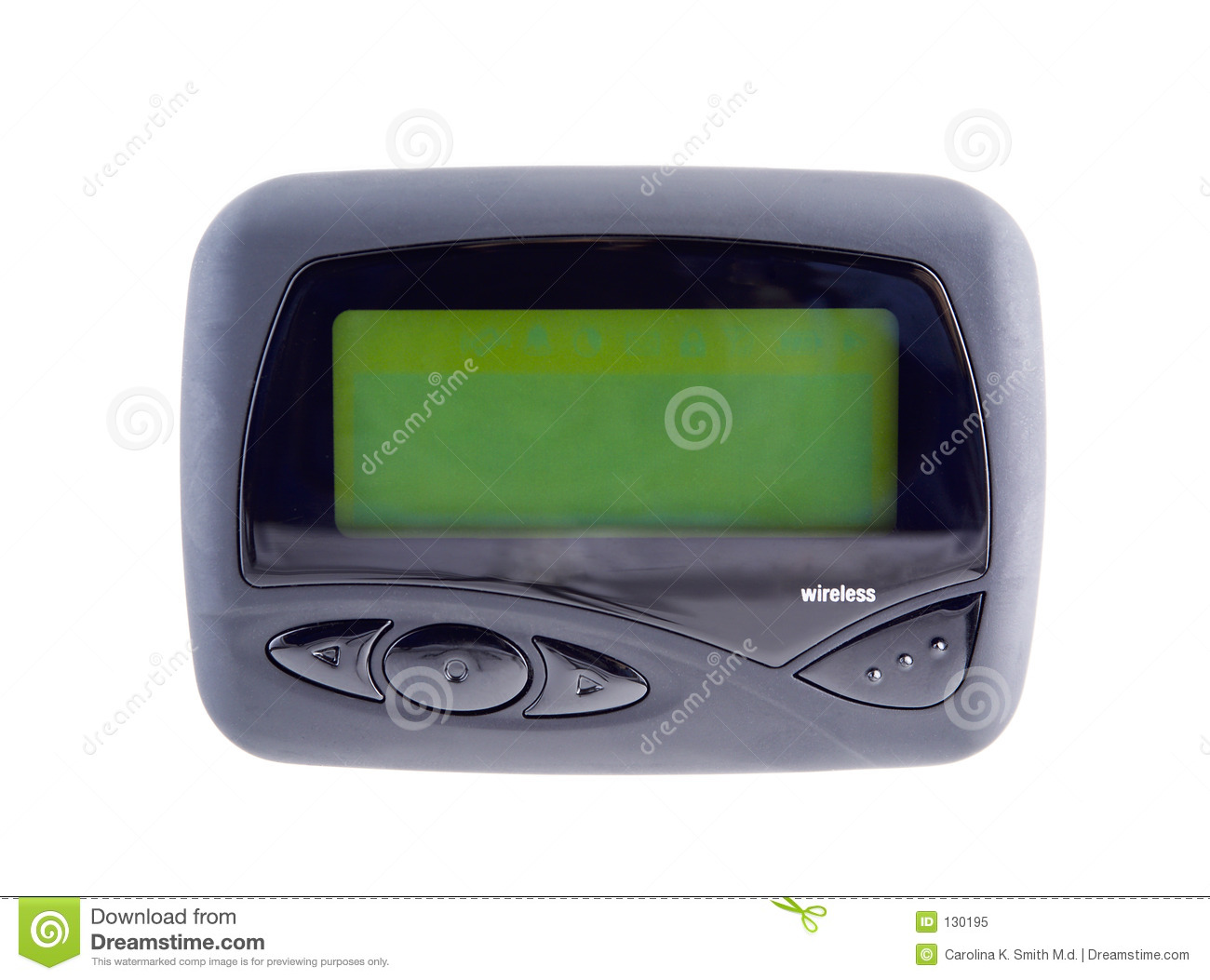 Wireless Pager 2 Blank Screen