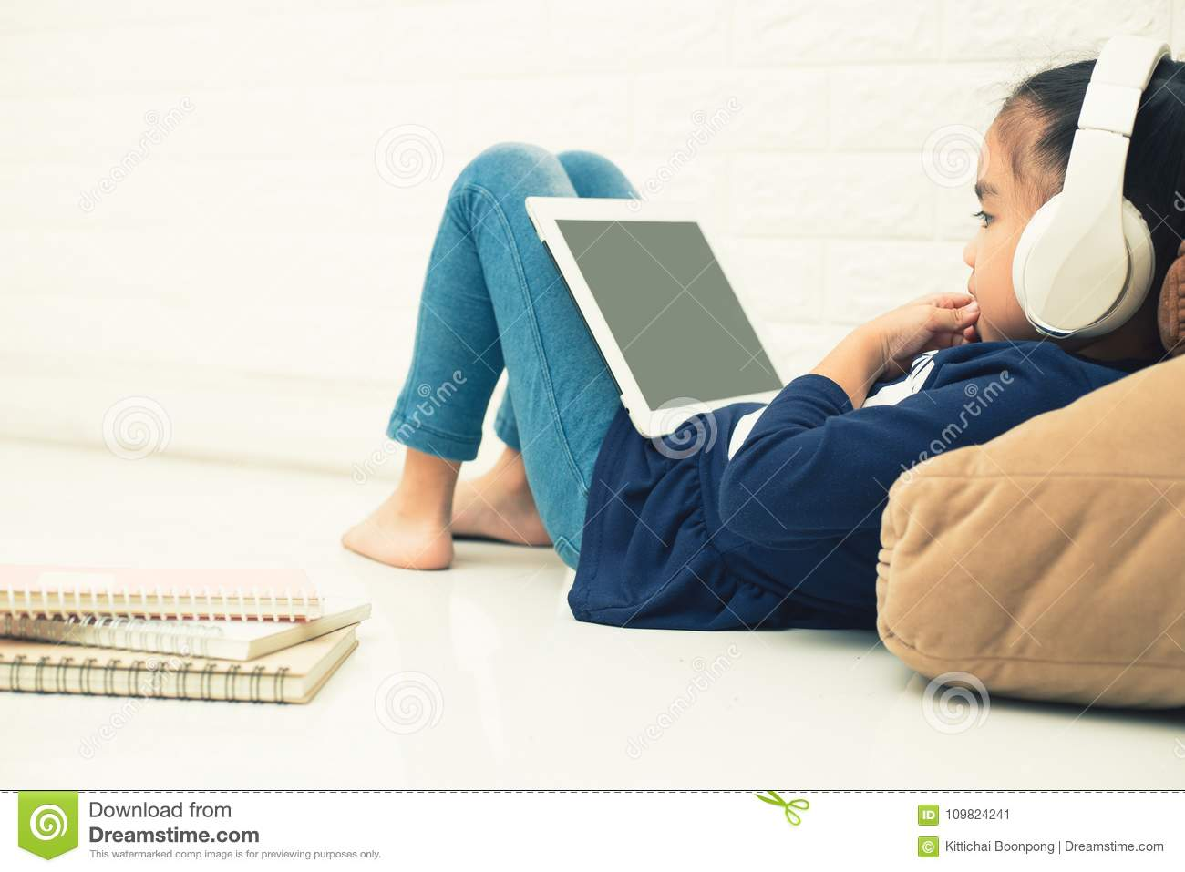 Wireless Router And Kids Using A Tablet In Home  Router Wireless