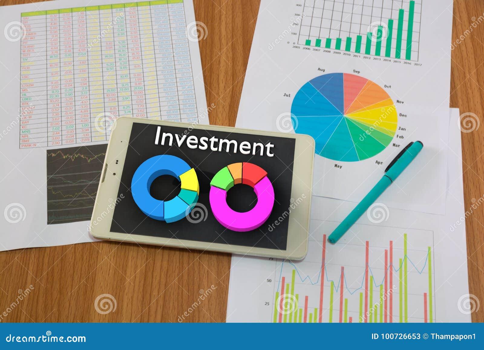 wireless tablet pc wooden desk stock market report bar chart pie diagram pen as account financial money investment 100726653 wireless tablet pc on wooden desk with stock market report stock