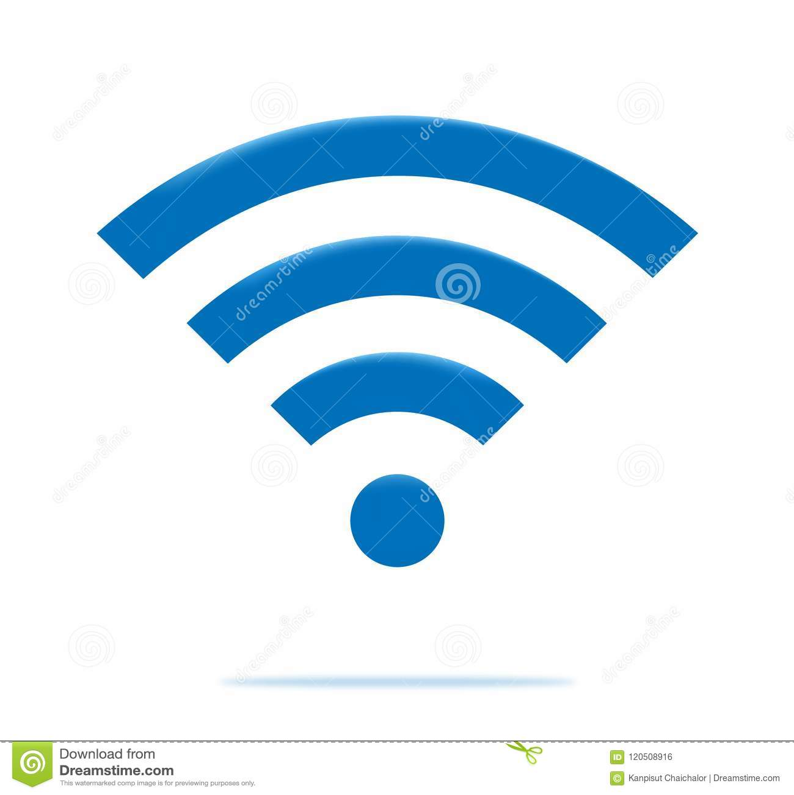 Wireless And Wifi Icons Wireless Network Symbol Wifi Icon Stock