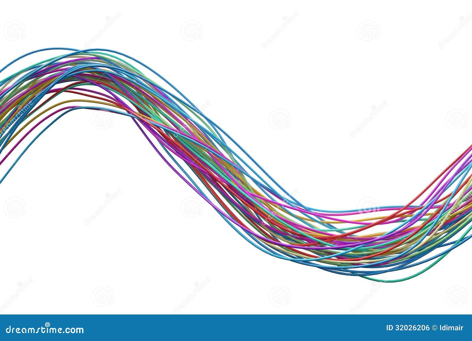 wires stock illustration illustration of blue isolated. Black Bedroom Furniture Sets. Home Design Ideas
