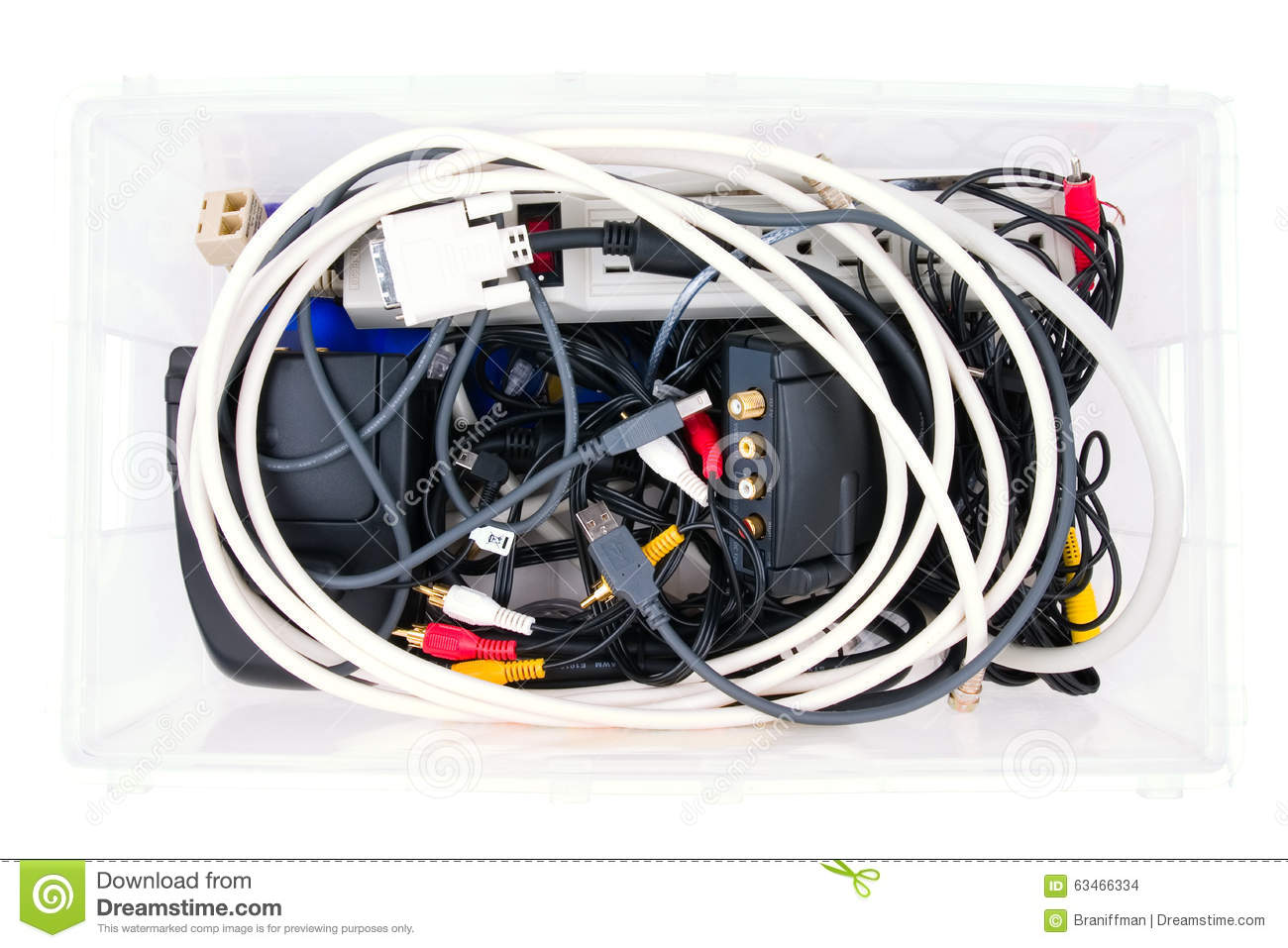 Outstanding Wires And Connectors For Computer Audio Video In A Box Stock Photo Wiring 101 Akebretraxxcnl
