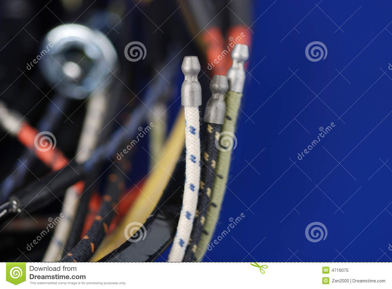 Wiring harness royalty free stock photo image