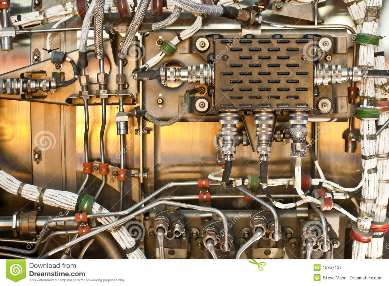 Wiring and hydraulics