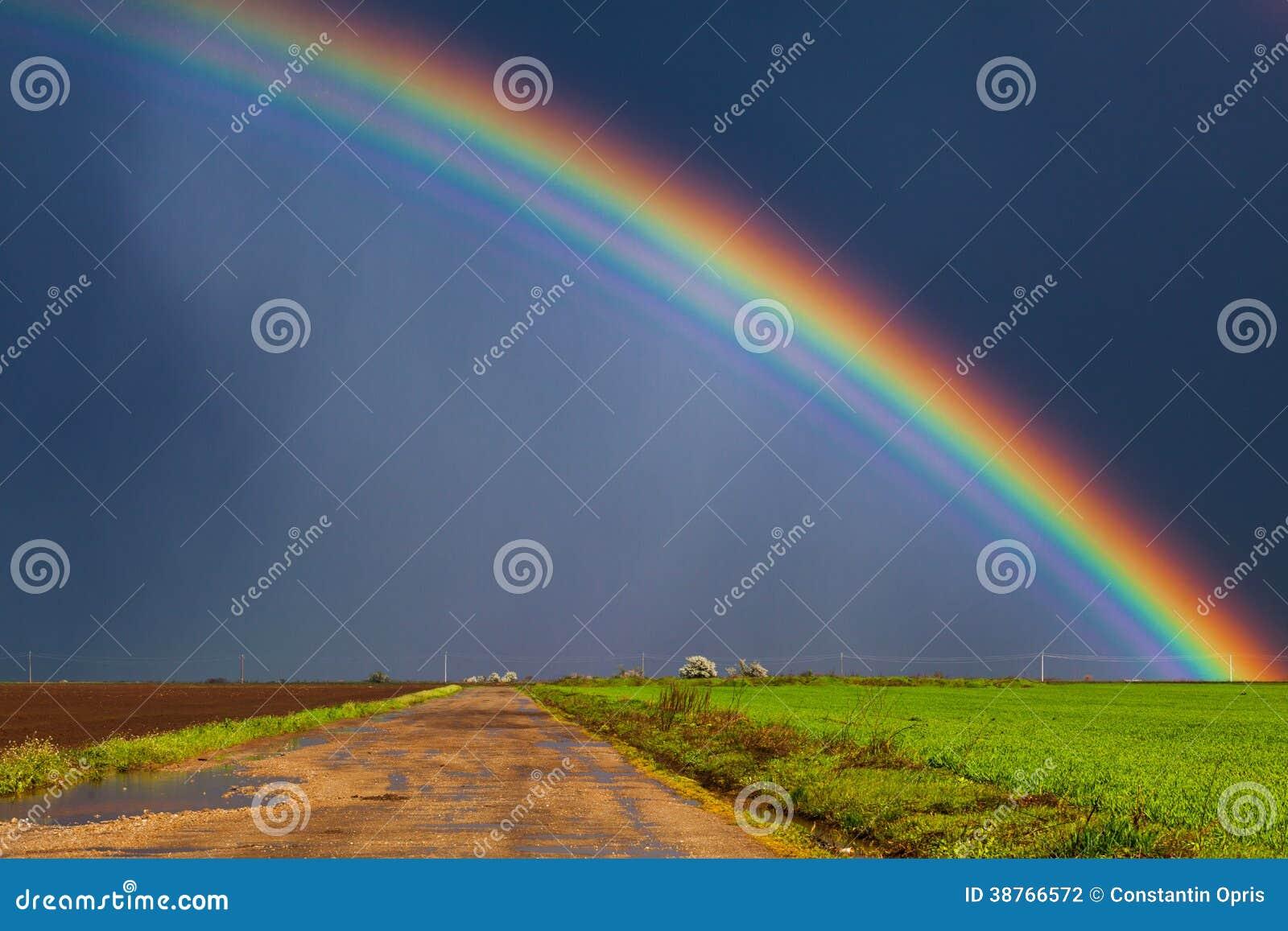 Wirklicher Regenbogen