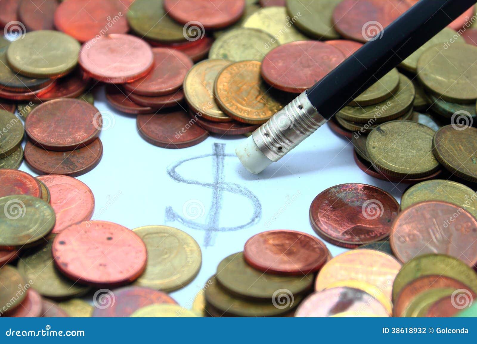 Wis het Contante geld van het dollarmuntstuk van het Geld van Thailand