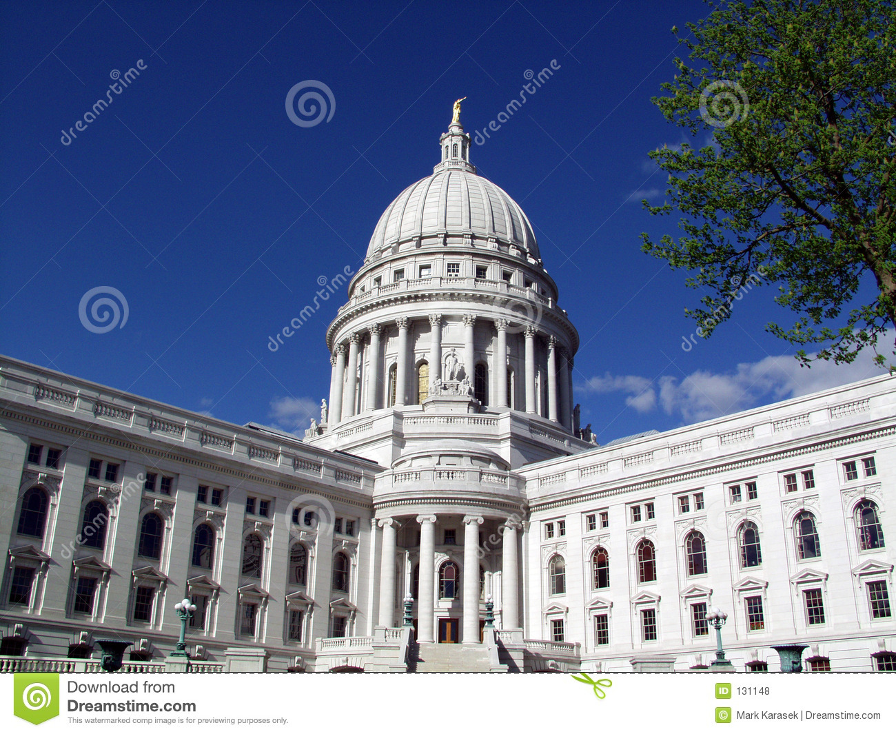 Wisconsin State Capital Royalty Free Stock Photos Image