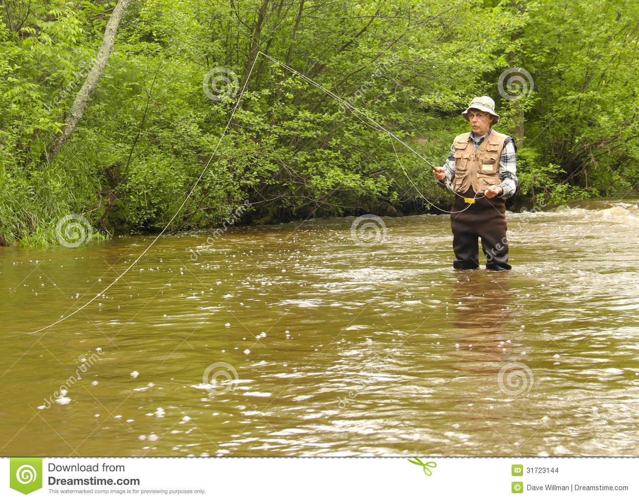 Wisconsin trout fishing stock images image 31723144 for Trout fishing wisconsin