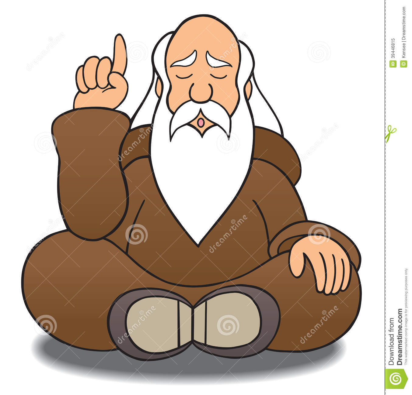 Wise Man Stock Vector - Image: 39446815