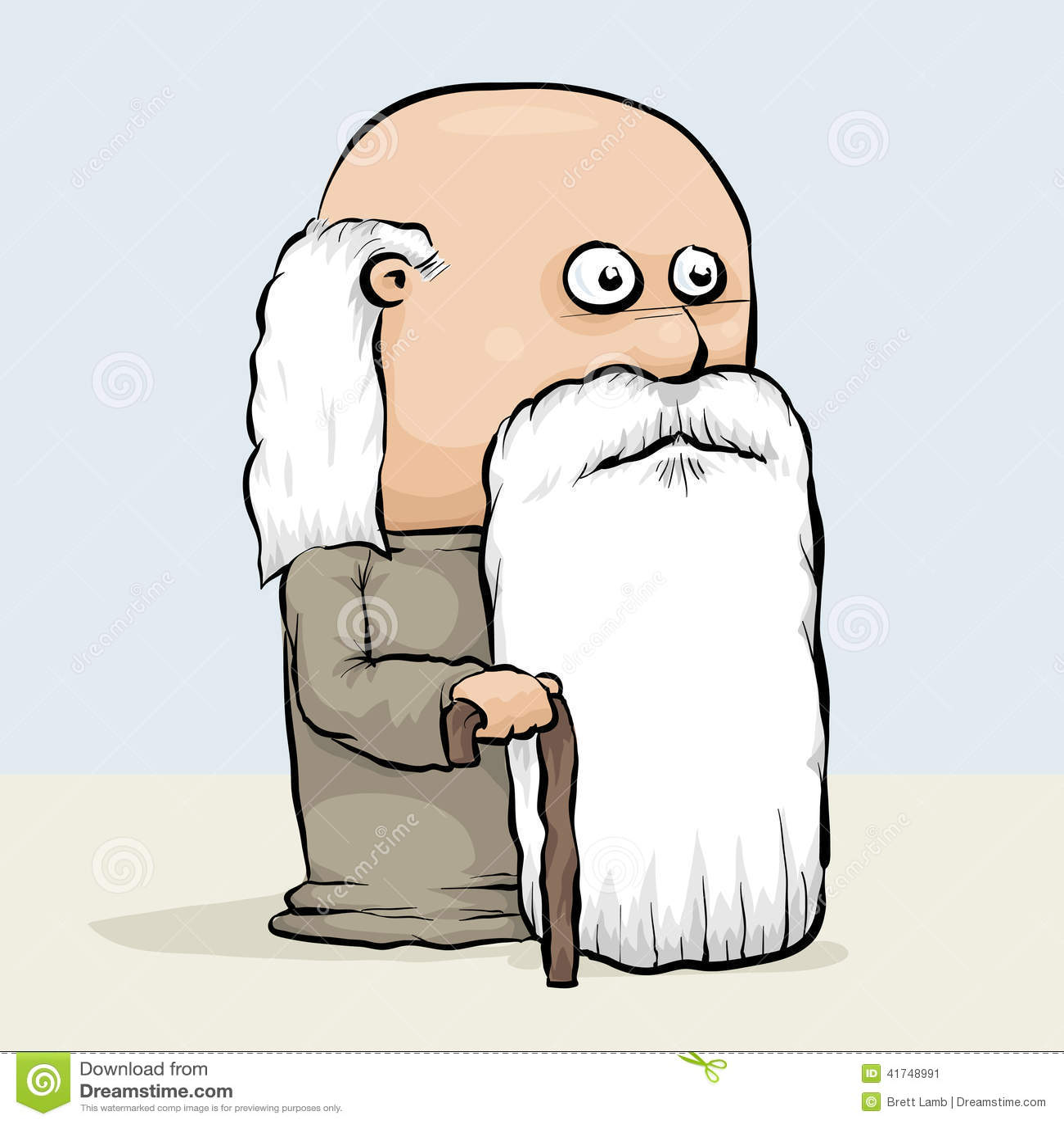 Illustration Old Man Image & Photo (Free Trial) | Bigstock