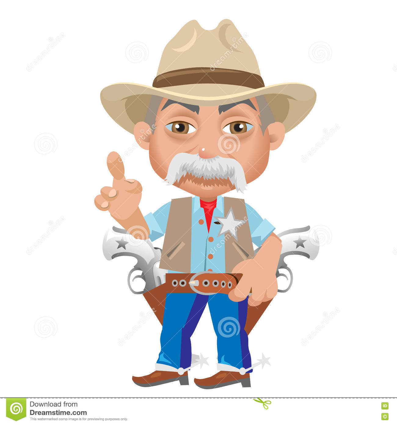 wise sheriff  cartoon character in wild west stock sheriff badge clipart blue line sheriff badge clipart black and white