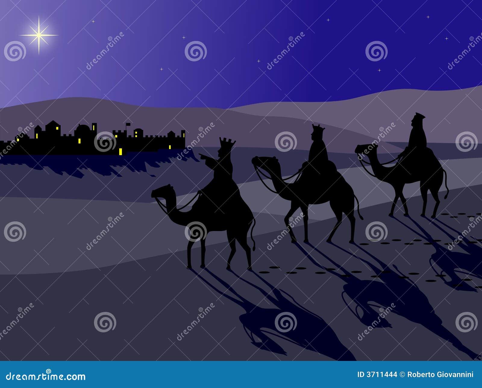Wisemen en Bethlehem