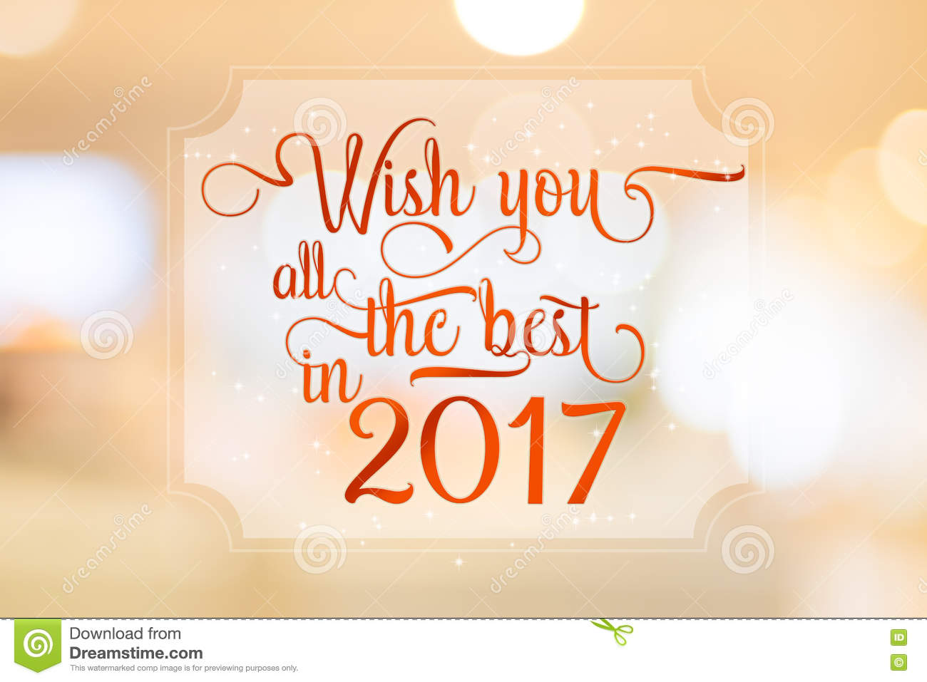 Wish you all the best in 2017 word on white frame at abstract bl wish you all the best in 2017 word on white frame at abstract bl kristyandbryce Image collections