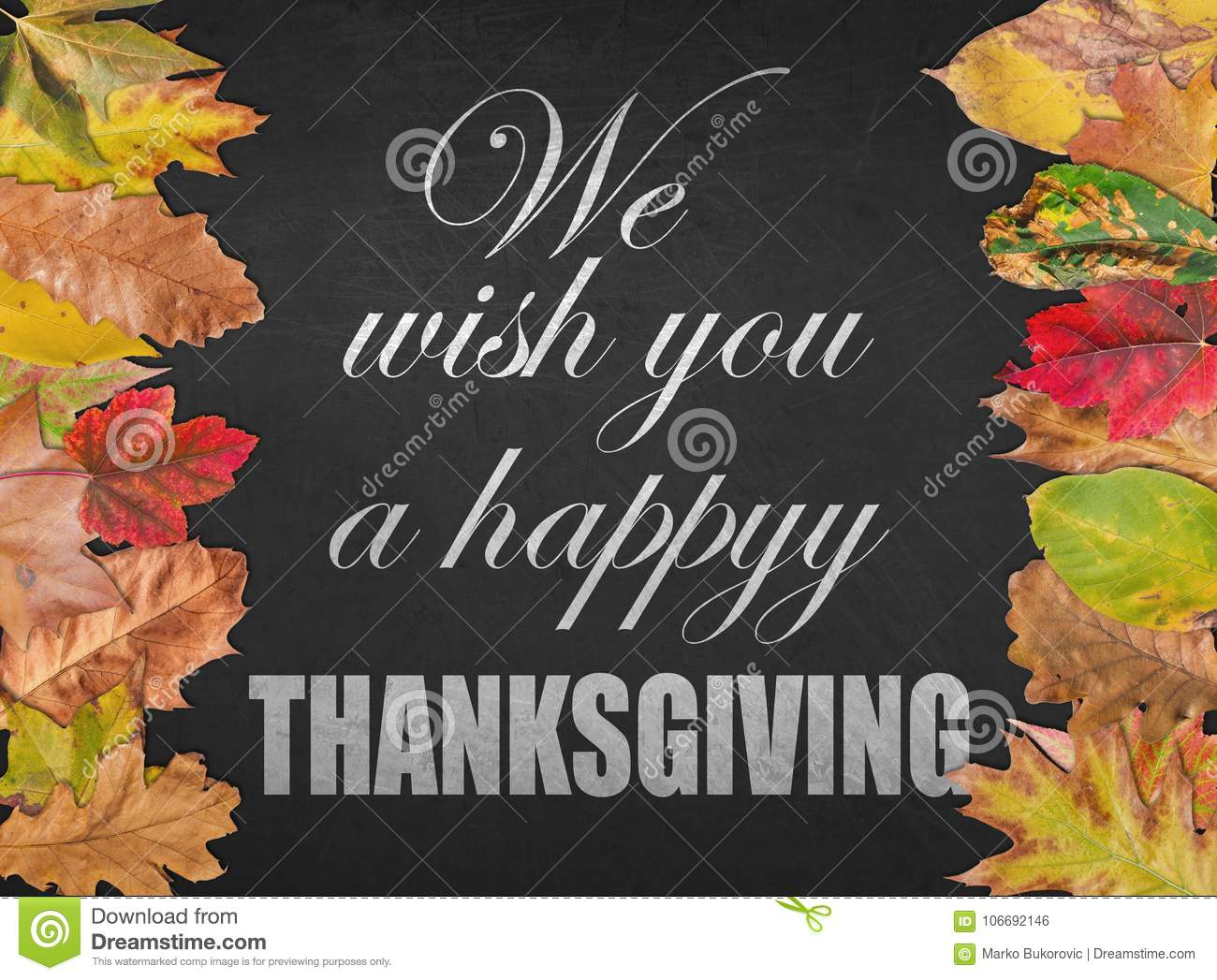 2019 year lifestyle- Wishes day Thanksgiving