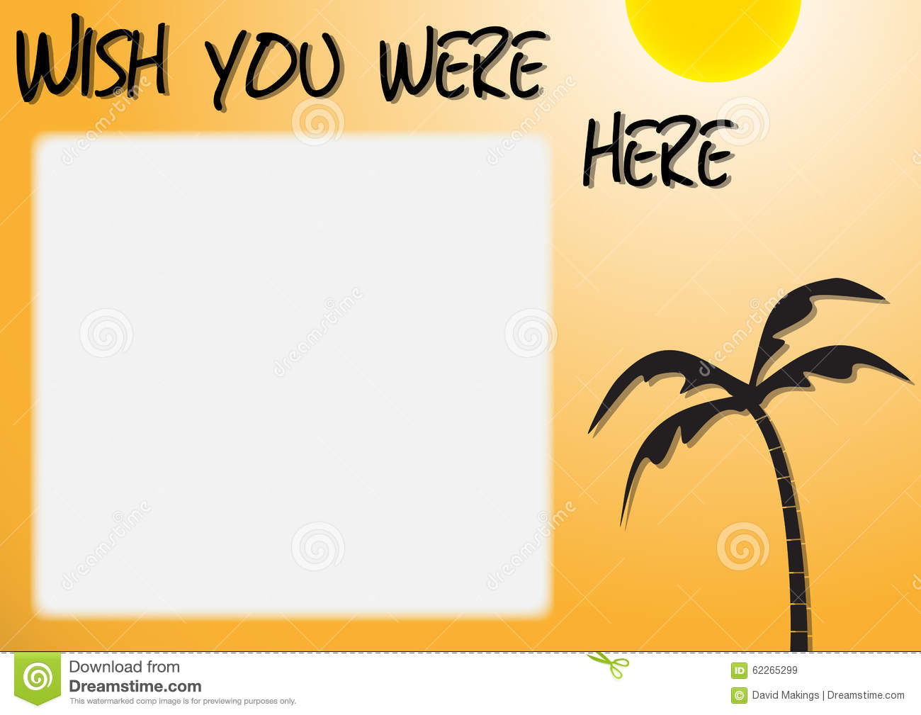 Wish You Were Here Card Topsimages