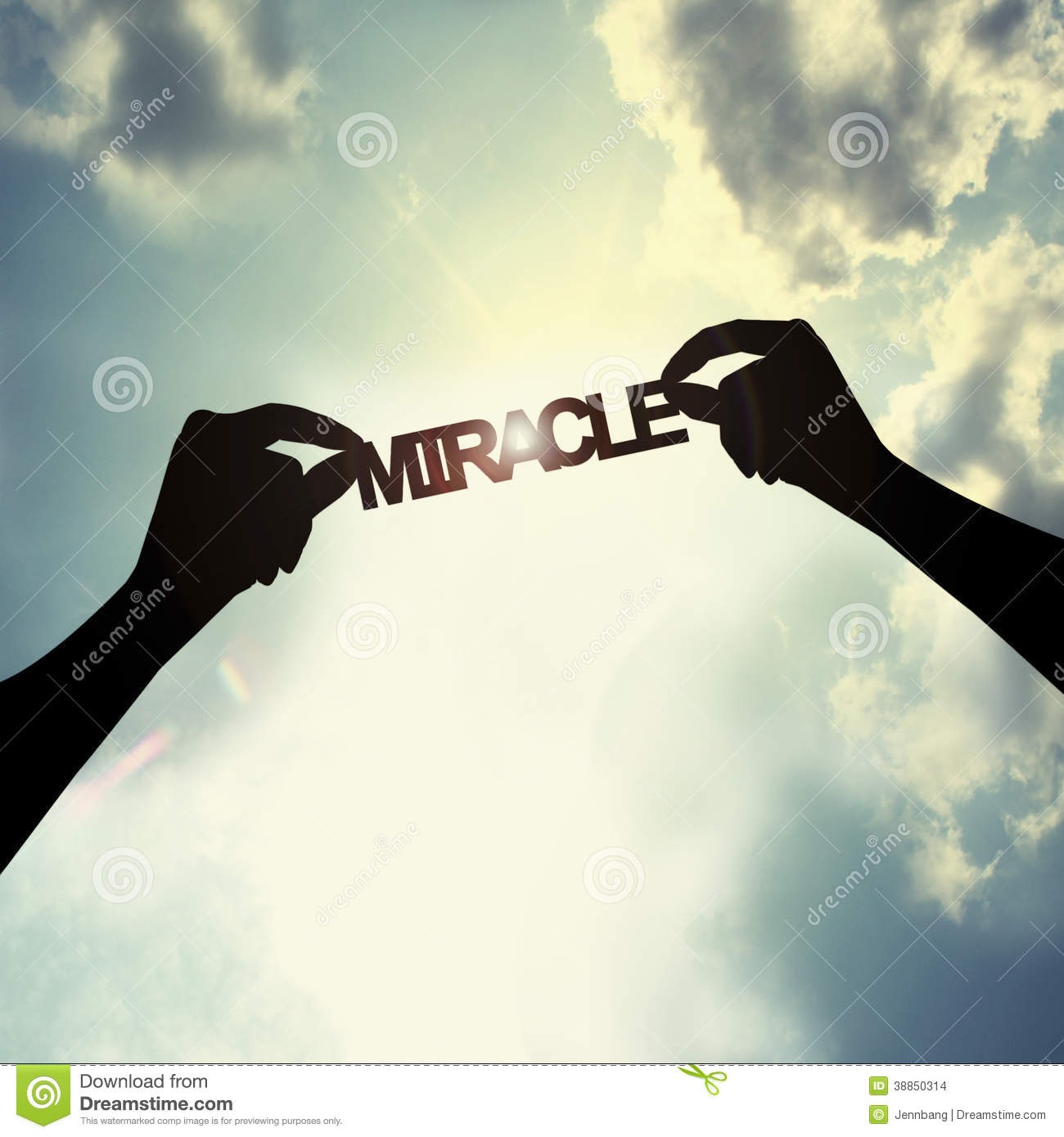 Wishing A Miracle Stock Photo Image Of Abstract Hope