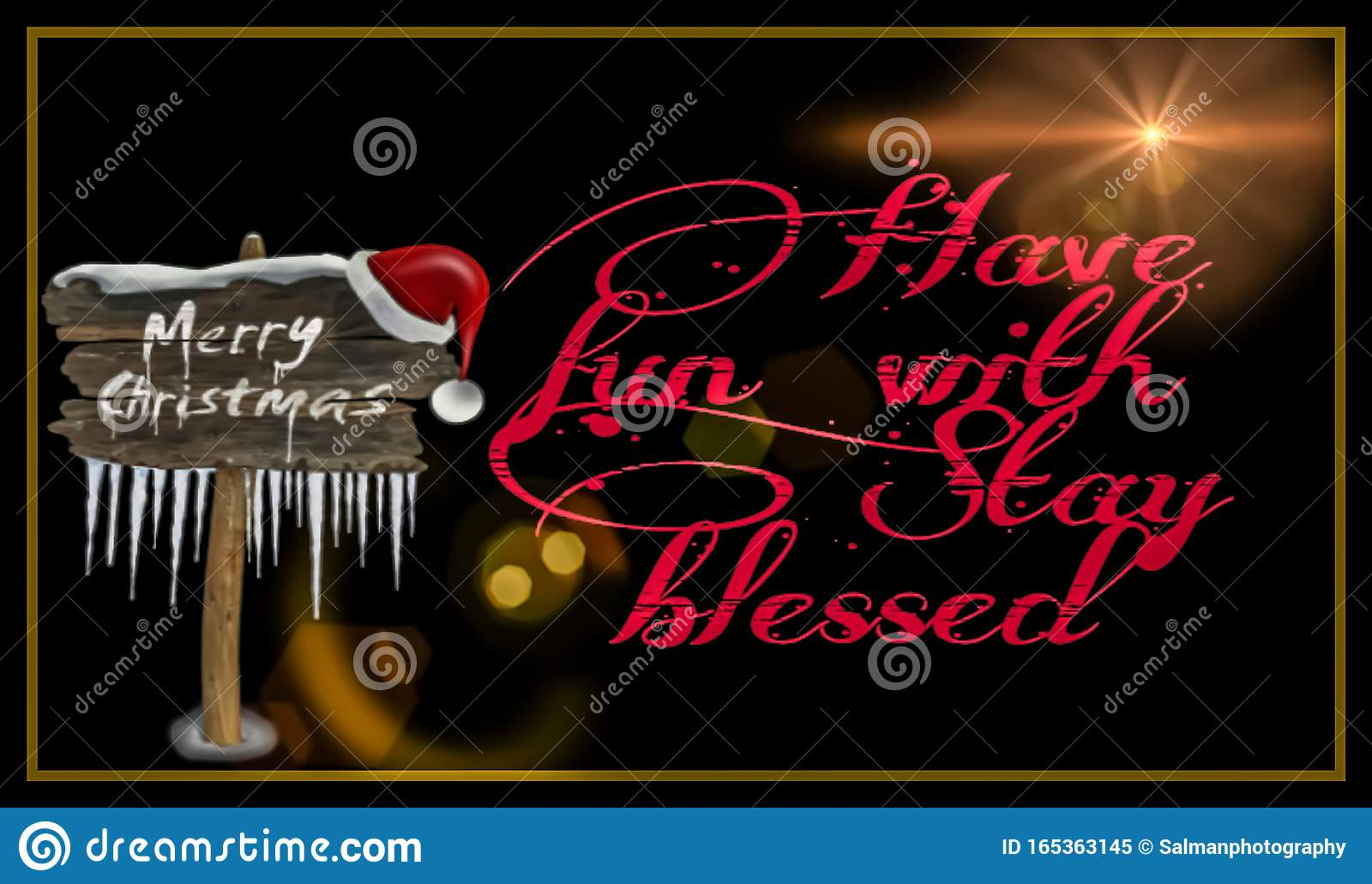 Wishing picture of Merry Christmas 2019