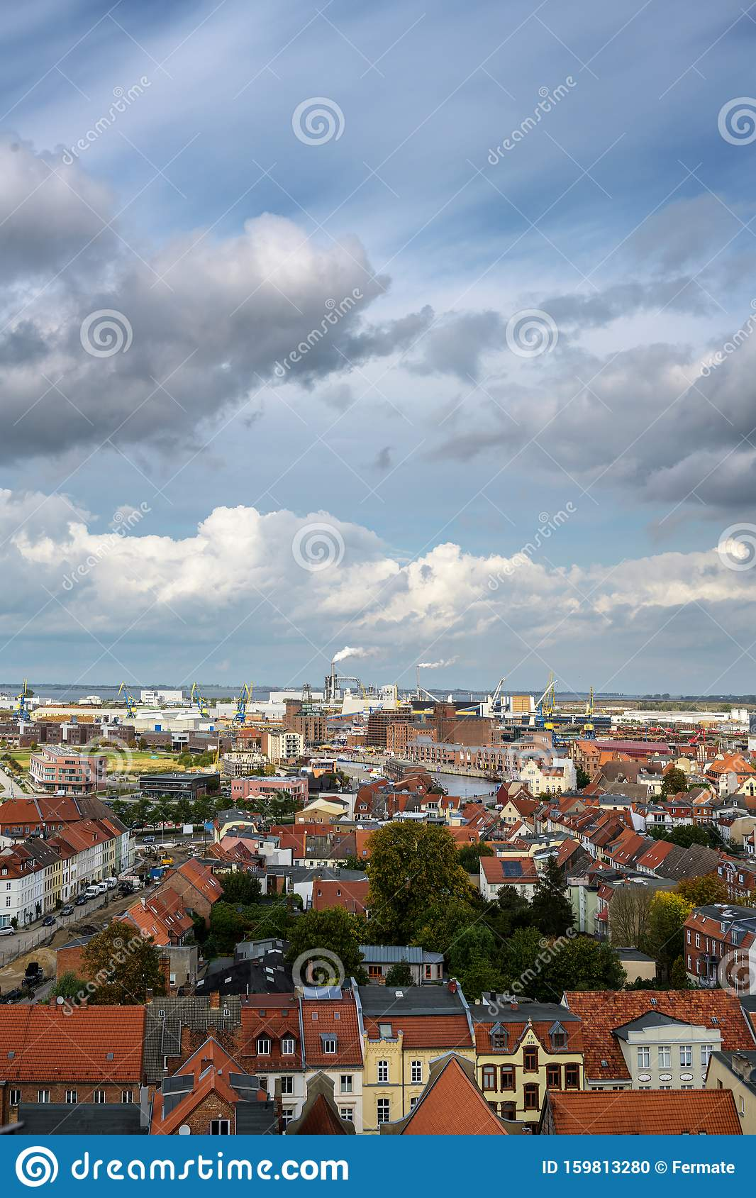 High Above The Clouds Aerial View Royalty-Free Stock ...